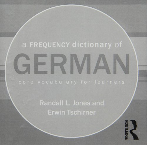 9780415601092: A Frequency Dictionary of German: Core Vocabulary for Learners (Routledge Frequency Dictionaries) (English and German Edition)