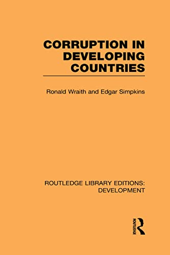 9780415601450: Corruption in Developing Countries