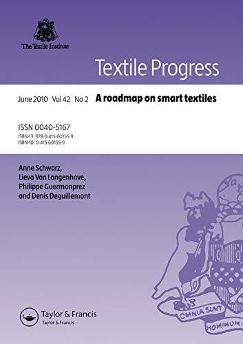A Roadmap on Smart Textiles: Schwarz, Anne