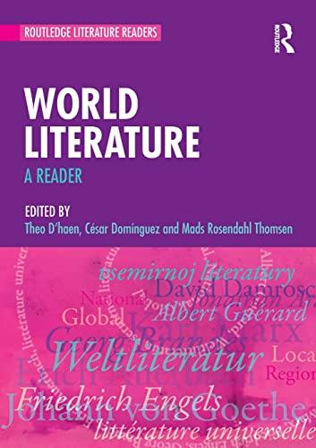 9780415602990: World Literature: A Reader (Routledge Literature Readers)