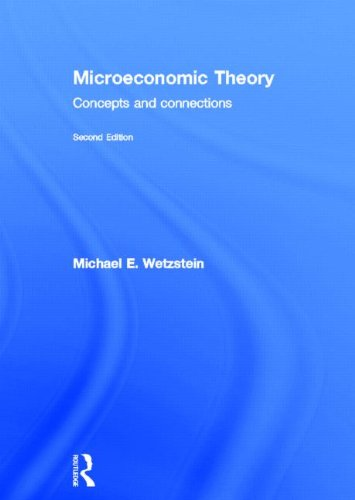 9780415603690: Microeconomic Theory second edition: Concepts and Connections