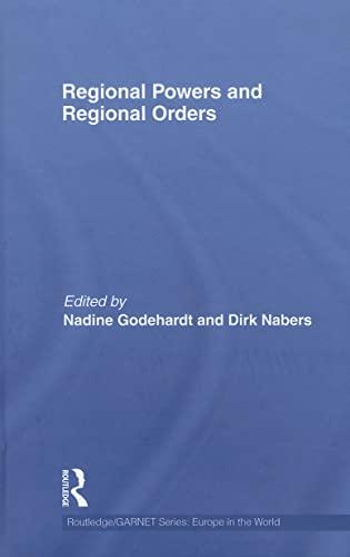 9780415603836: Regional Powers and Regional Orders (Routledge/GARNET series)