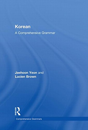 9780415603843: Korean: A Comprehensive Grammar (Routledge Comprehensive Grammars)
