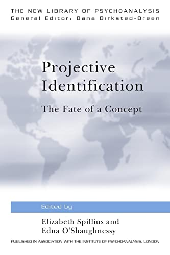 projective identification 3 cording to bion, projective identification can be used as an instrument of therapy by a therapist who understands the mechanism in detail the.