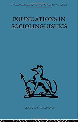 9780415606301: Foundations in Sociolinguistics: An ethnographic approach