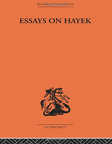 9780415607247: Essays on Hayek