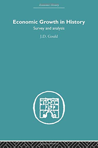 9780415607650: Economic Growth in History: Survey and Analysis