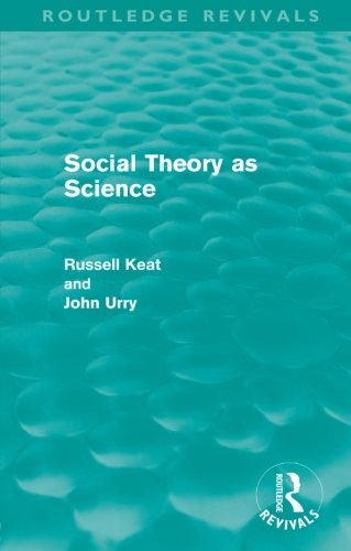 9780415608787: Social Theory as Science (Routledge Revivals)