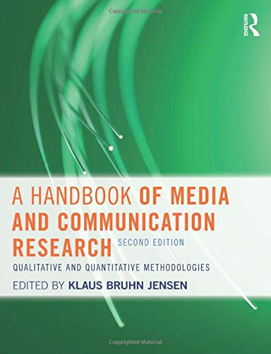 9780415609661: A Handbook of Media and Communication Research: Qualitative and Quantitative Methodologies