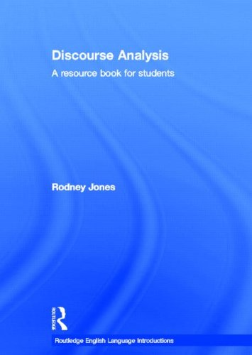 9780415609999: Discourse Analysis: A Resource Book for Students (Routledge English Language Introductions)
