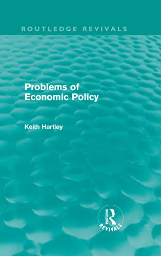 9780415610711: Problems of Economic Policy (Routledge Revivals) (Volume 17)