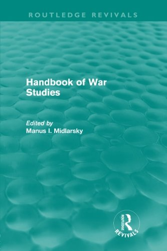 9780415611008: Handbook of War Studies (Routledge Revivals)