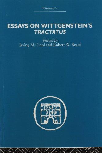 9780415611015: Essays on Wittgenstein's Tractatus