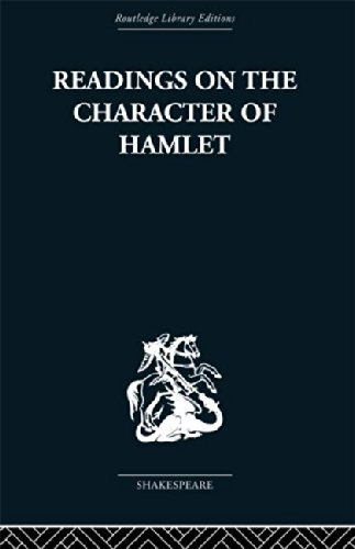 9780415612296: Readings on the Character of Hamlet: compiled from over three hundred sources.