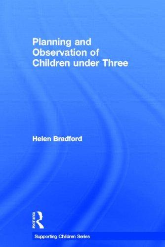 9780415612678: Planning and Observation of Children under Three