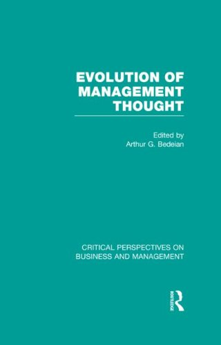 9780415613033: Evolution of Management Thought (Critical Perspectives on Business and Management)