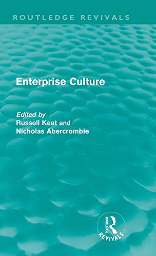 9780415613422: Enterprise Culture (Routledge Revivals)