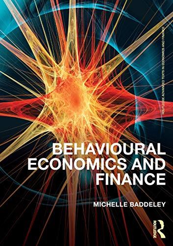 9780415614788: Behavioural Economics and Finance (Routledge Advanced Texts in Economics and Finance)