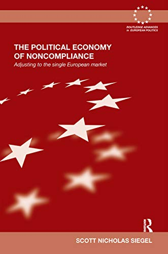 The Political Economy of Noncompliance: Adjusting to the Single European Market: Siegel, Scott ...