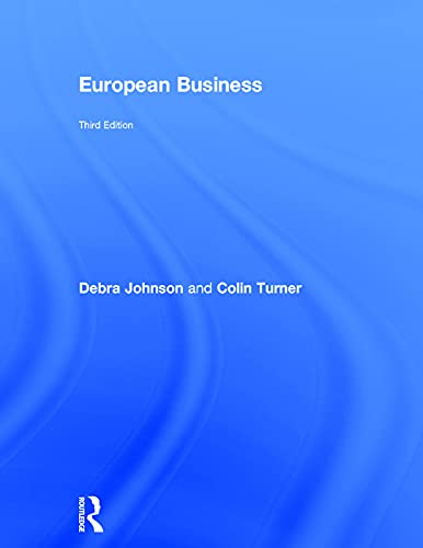 9780415617161: European Business