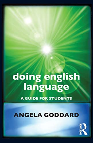 9780415618823: Doing English Language: A Guide for Students (Doing... Series)