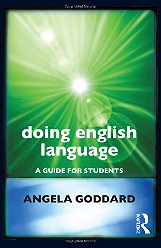 9780415618830: Doing English Language: A Guide for Students (Doing... Series)