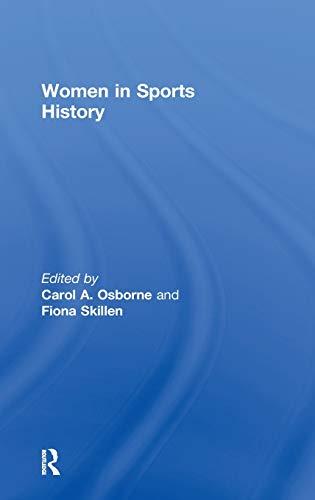 9780415619073: Women in Sports History