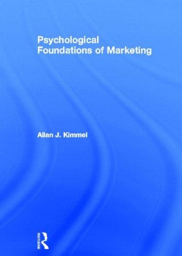9780415620000: Psychological Foundations of Marketing