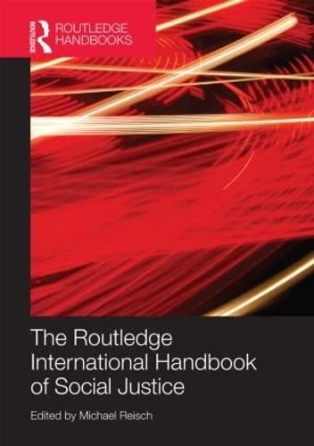 9780415620437: Routledge International Handbook of Social Justice (Routledge Handbooks)