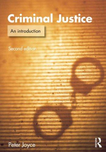 9780415620628: Criminal Justice: An Introduction