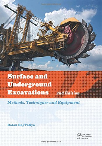 9780415621199: Surface and Underground Excavations, 2nd Edition: Methods, Techniques and Equipment