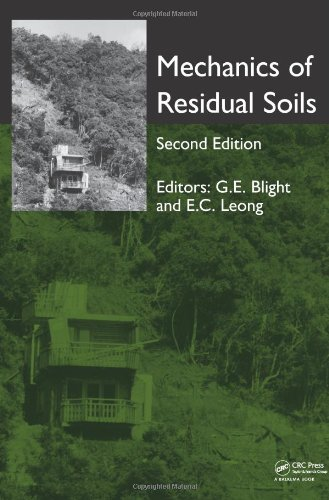 9780415621205: Mechanics of Residual Soils, Second Edition