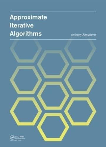 9780415621540: Approximate Iterative Algorithms