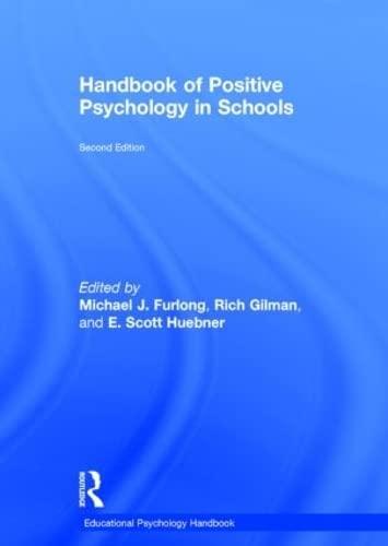 9780415621854: Handbook of Positive Psychology in Schools (Educational Psychology Handbook)