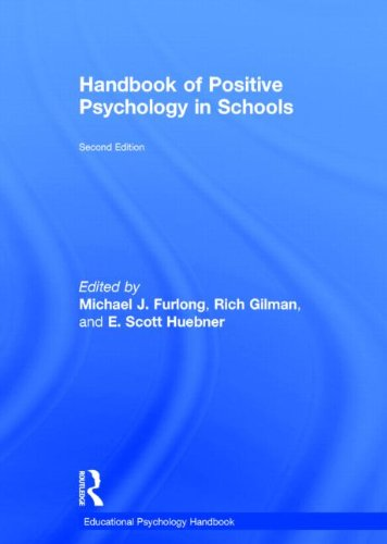 9780415621854: Handbook of Positive Psychology in Schools (Educational Psychology Handbook)