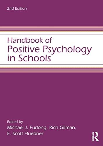 9780415621861: Handbook of Positive Psychology in Schools (Educational Psychology Handbook)