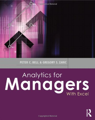 9780415622684: Analytics for Managers: With Excel