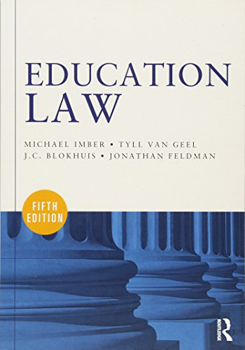 9780415622813: Education Law
