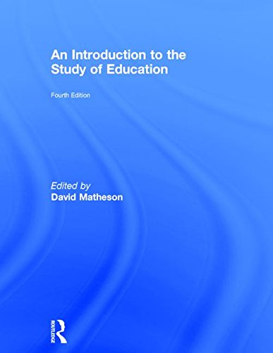 9780415623094: An Introduction to the Study of Education