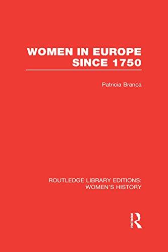 9780415625838: Women in Europe since 1750