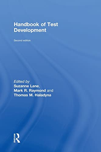 9780415626019: Handbook of Test Development (Educational Psychology Handbook)