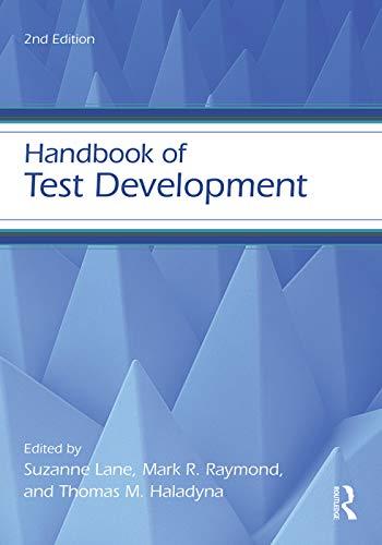 9780415626026: Handbook of Test Development (Educational Psychology Handbook)