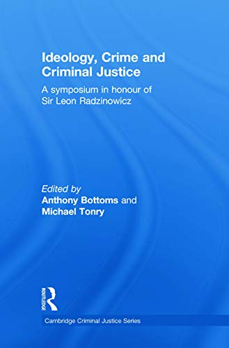 9780415627719: Ideology, Crime and Criminal Justice (Cambridge Criminal Justice Ser)
