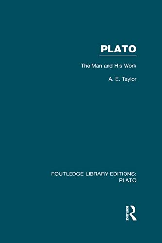 9780415627801: Plato: The Man and His Work (RLE: Plato)