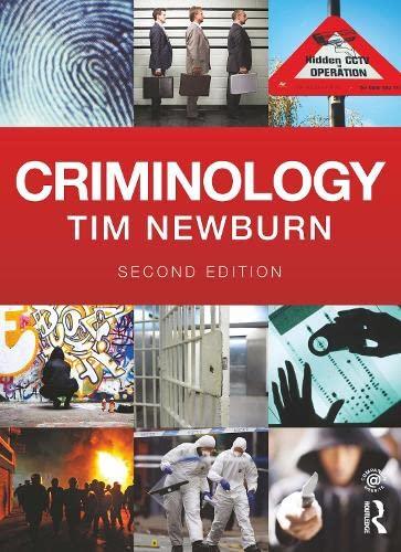 9780415628945: Criminology