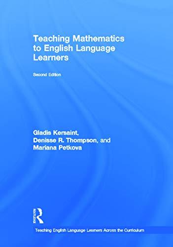 9780415629768: Teaching Mathematics to English Language Learners (Teaching English Language Learners Across the Curriculum)