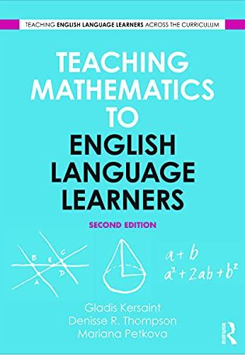 9780415629775: Teaching Mathematics to English Language Learners (Teaching English Language Learners Across the Cirriculum)