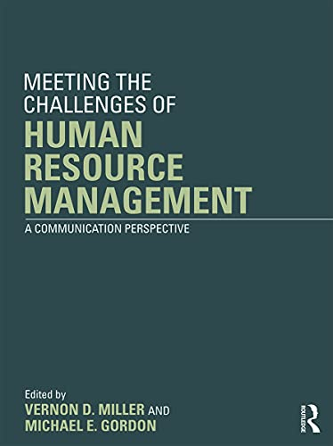 9780415630214: Meeting the Challenge of Human Resource Management: A Communication Perspective