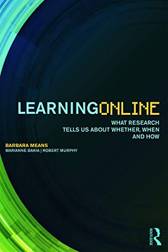 Learning Online 9780415630290 At a time when more and more of what people learn both in formal courses and in everyday life is mediated by technology, Learning Online provides a much-needed guide to different forms and applications of online learning. This book describes how online learning is being used in both K-12 and higher education settings as well as in learning outside of school. Particular online learning technologies, such as MOOCs (massive open online courses), multi-player games, learning analytics, and adaptive online practice environments, are described in terms of design principles, implementation, and contexts of use. Learning Online synthesizes research findings on the effectiveness of different types of online learning, but a major message of the book is that student outcomes arise from the joint influence of implementation, context, and learner characteristics interacting with technology--not from technology alone. The book describes available research about how best to implement different forms of online learning for specific kinds of students, subject areas, and contexts. Building on available evidence regarding practices that make online and blended learning more effective in different contexts, Learning Online draws implications for institutional and state policies that would promote judicious uses of online learning and effective implementation models. This in-depth research work concludes with a call for an online learning implementation research agenda, combining education institutions and research partners in a collaborative effort to generate and share evidence on effective practices.