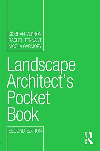 9780415630849: Landscape Architect's Pocket Book (Routledge Pocket Books)